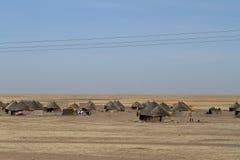 Wioski w Sudan Obrazy Stock