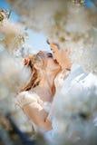 wiosna ślub obraz stock