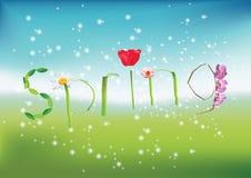 Wiosna Royalty Ilustracja