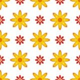 wiosna bezszwowa tekstura royalty ilustracja