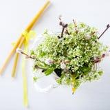 Wiosna bukiet świezi kwiaty Fotografia Stock