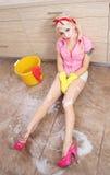 Wiosna cleaning Zdjęcia Royalty Free