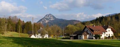Wiosna czas w Alps Obrazy Stock
