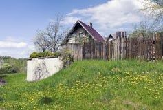 Wiosna czas w ogrodowym skojarzeniu Obrazy Royalty Free