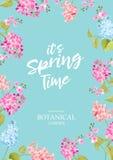 Wiosna czasu pojęcie ilustracja wektor