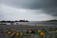 Wiosna denny widok w Ahtopol Zdjęcia Royalty Free
