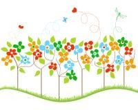 wiosna drzewa Zdjęcie Stock