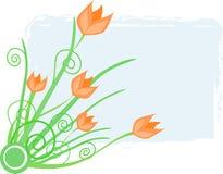 wiosna ilustracyjny tulipan Fotografia Royalty Free