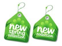 Wiosna kolekci etykietki. Obraz Royalty Free