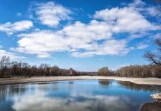 Wiosna krajobraz Fotografia Stock