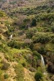 Wiosna krajobraz w Parc Obywatel De Tazekka, Maroko zdjęcie royalty free