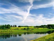 wiosna krajobrazowa Fotografia Stock