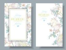 Wiosna kwiatu sztandary royalty ilustracja
