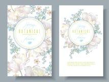 Wiosna kwiatu sztandary ilustracja wektor