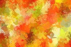 Wiosna kwiaty i motyli abstrakcjonistyczny tło Obraz Royalty Free