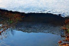 Wiosna lód Zdjęcie Royalty Free