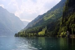 wiosna lake Szwajcarii Fotografia Royalty Free
