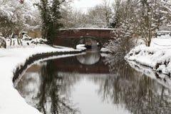 Wiosna na Llangollen kanale Zdjęcie Royalty Free