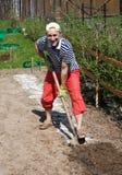 wiosna ogrodowe pracy zdjęcia stock