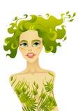 wiosna piękna kobieta Zdjęcie Royalty Free