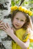 Wiosna portret fotografia stock