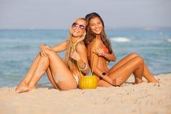 Wiosna przerwy plaża Fotografia Royalty Free