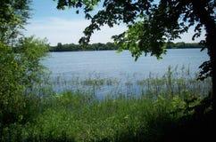 Wiosna Przy Como jeziorem Zdjęcia Royalty Free