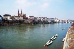 Wiosna Rhine zdjęcie stock
