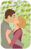 wiosna romansowa royalty ilustracja