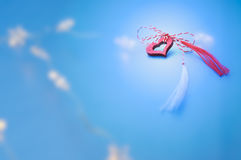 Wiosna symbol dla miłości Fotografia Royalty Free