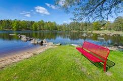 Wiosna szwedów kontrasty Fotografia Stock