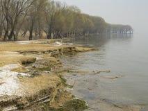 Wiosna w Gaoyou jeziorze obrazy royalty free
