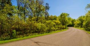 Wiosna w Iowa Obrazy Royalty Free