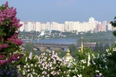 Wiosna w Kijów Fotografia Royalty Free