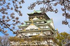 Wiosna w Osaka kasztelu Zdjęcia Royalty Free