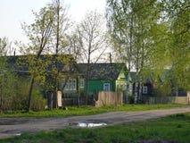 Wiosna w rosyjskiej wiosce Obraz Royalty Free