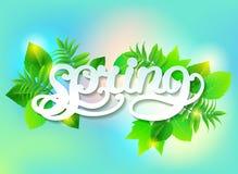 Wiosna wektoru tło Royalty Ilustracja
