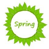 Wiosna wianek Obraz Royalty Free