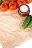 wiosna świezi warzywa Obraz Stock
