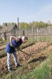 wiosna wioski pracy obraz stock
