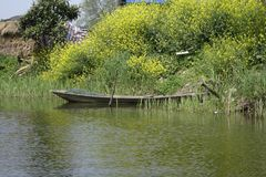 Wiosna wodny miasteczko wody kraj fotografia stock