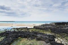 Wiosna wodny punkt przy Sehwa plażą Zdjęcia Royalty Free
