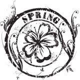 Wiosna znaczek Obraz Royalty Free