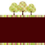 wiosny abstrakcjonistyczny drzewo Obraz Stock