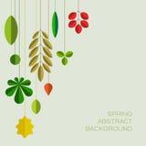 Wiosny abstrakcjonistyczny kwiecisty tło z miejscem dla twój teksta Zdjęcie Stock