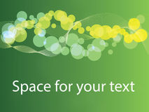 Wiosny abstrakcjonistyczny tło z przestrzenią dla teksta Zdjęcia Stock
