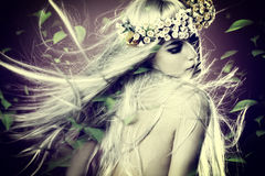 Wiosny boginka Fotografia Royalty Free