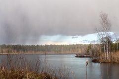 Wiosny burza Fotografia Stock