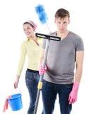 Wiosny cleaning zdjęcia royalty free