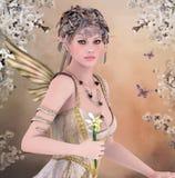Wiosny królowa Obraz Royalty Free